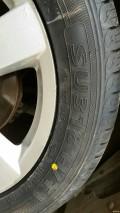 更换朝阳225.55R18轮胎