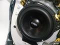 中山车概念丰田RAV4汽车音响改装史太格ST650C