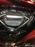 新宝马3系未上牌直接升级RES中尾段阀门排气