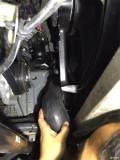 入夏了,Q50l2T清洗节气门