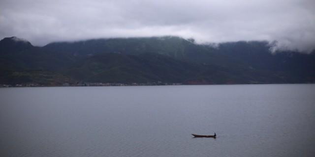 儿子一岁生日,带去泸沽湖过