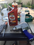 给我的气动工具加润滑油