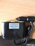 点烟器一分三带3个usb充电口120W