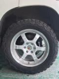 3.5普拉多改装轮毂轮胎排气...