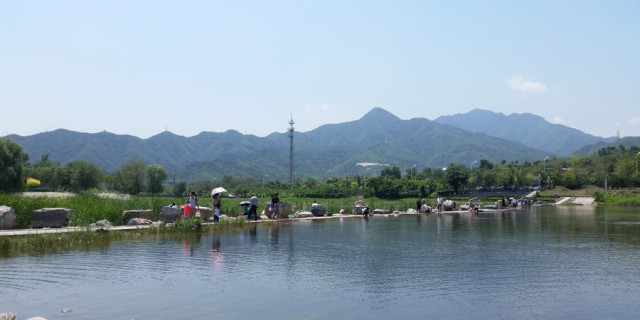 烈日炎炎气温高,避暑就去京浪岛--京西京浪岛一游。