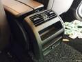 《装逼系列》宝马5系加装腰部支撑和后排空调面板。