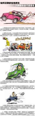 【如何正确安全地刹车八种刹车技巧面面观】