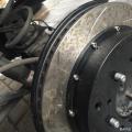 酷路泽前轮改装BREMBO卡宴版18Z大六活塞刹车卡钳分泵