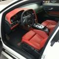 12款奥迪RS6-V10-5.2-白色骚红内