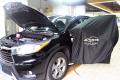丰田汉兰达汽车音响改装|芬朗ONESUB超薄低音炮