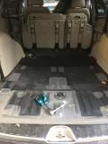 自行扩大后备箱空间――广汽三菱劲畅拆除第三排座椅及工具箱