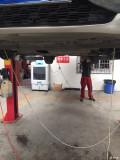 循环机更换刹车油作业!!!