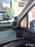 顶级享受梅州车乐汇本田奥德赛汽车音响改装丹拿三分频喇叭