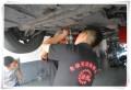 循环机更换自动变速箱油,英菲尼迪Q70换油过程