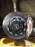 法拉利458拆车碳陶瓷刹车盘已改大众桥码