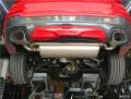 宝马X4改装左右单出双排气尾喉
