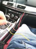 哈弗H7保险盒取电装行车记录仪怎么接