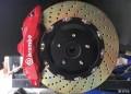 英菲尼迪Q50s豪运升级BremboGT前6后4刹车套装