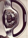 昆明奔驰S400改桃木方向盘