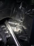 手动空调蒸发箱有手套箱送风管的接口么