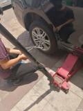 途虎养车网定的轮胎,师傅辛苦了。