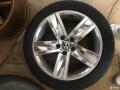 出大众CC原厂5幅轮毂轮胎