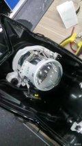 【光速车改】马自达睿翼车灯升级改装GTR海拉5双光透镜