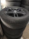 转让16款技术型19寸轮毂带胎,求带。。。