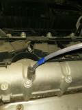 探道时绝缘胶带掉机油仓里了。。。