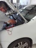 老速腾仪表灯频闪烁、发动机熄火,更换点火开关修复