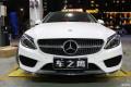 深圳奔驰C级加装三色氛围灯+电尾门