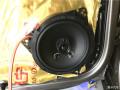柳州金手指汽车音响大众迈腾改装德国零点三分频套装喇叭