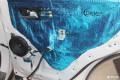 武汉来福汽车音响改装起亚KX7尊跑汽车音响改装超薄低音