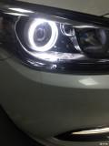 南京改灯 起亚K4升级海拉五透镜欧司朗氙气灯 南京汽车改灯