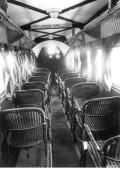 1930年的飞机机舱。