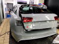 奥迪RS6原厂水泥灰+隐形车衣