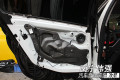 南宁宝马320专业音响隔音汽车改装美容专家导航南宁伟强改装