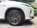 雷克萨斯RX200T改装AP8520大六活塞刹车套装刹车卡钳