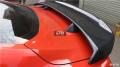 15-16年新款福特野马改装两脚碳纤尾翼四脚导风定风翼大尾翼