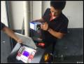 荣威550更换变速箱油 循环机换油 变速箱保养