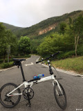 今天早上凉快,骑得舒爽......