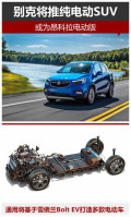 别克将推纯电动SUV 或为昂科拉电动版
