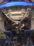 17款宝马3系 改装AOOAS中尾段可变阀门排气