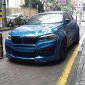 宝马X6改装包围你也可拥有一辆跟国外一样帅帅的宝马X6改装车