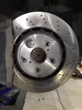 求助gs430刹车第一脚刹车哒的一声异响