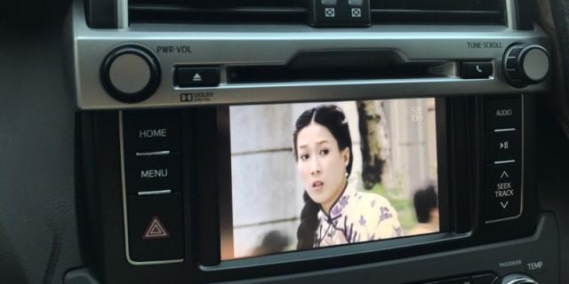中规霸道移植中东大屏dvd并实现第三方360全景功能