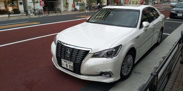 日本街头各式各样的汽车