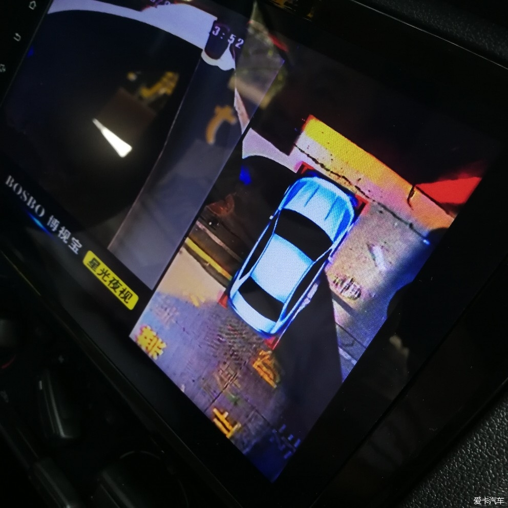 湖南长沙中南汽车世界安装捷达导航360铁将军胎压监测