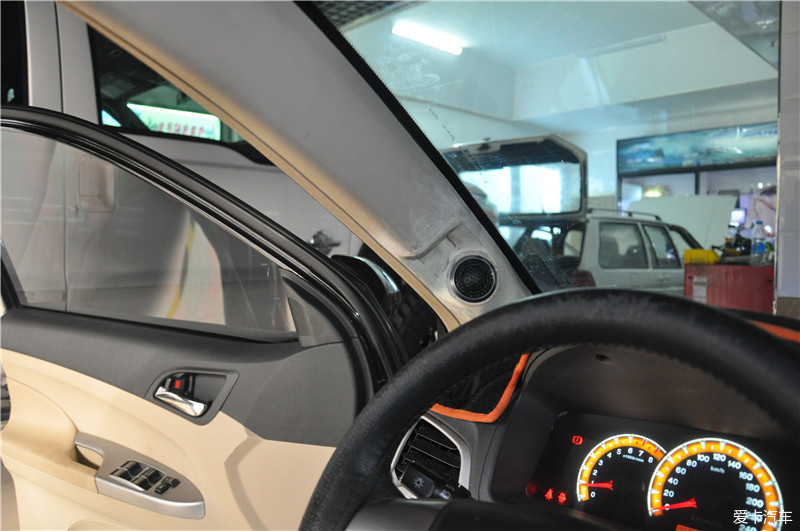 大连道声汽车音响改装 比亚迪F3升级尼诺帕克N3.2