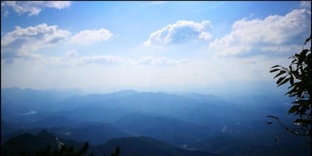 周末二日罗田薄刀锋、天堂寨登山之旅随拍